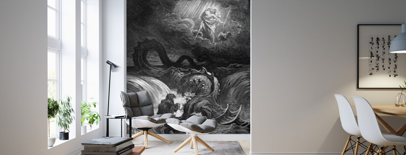 Esaias Syn - Gustave Dore - Wallpaper - Living Room