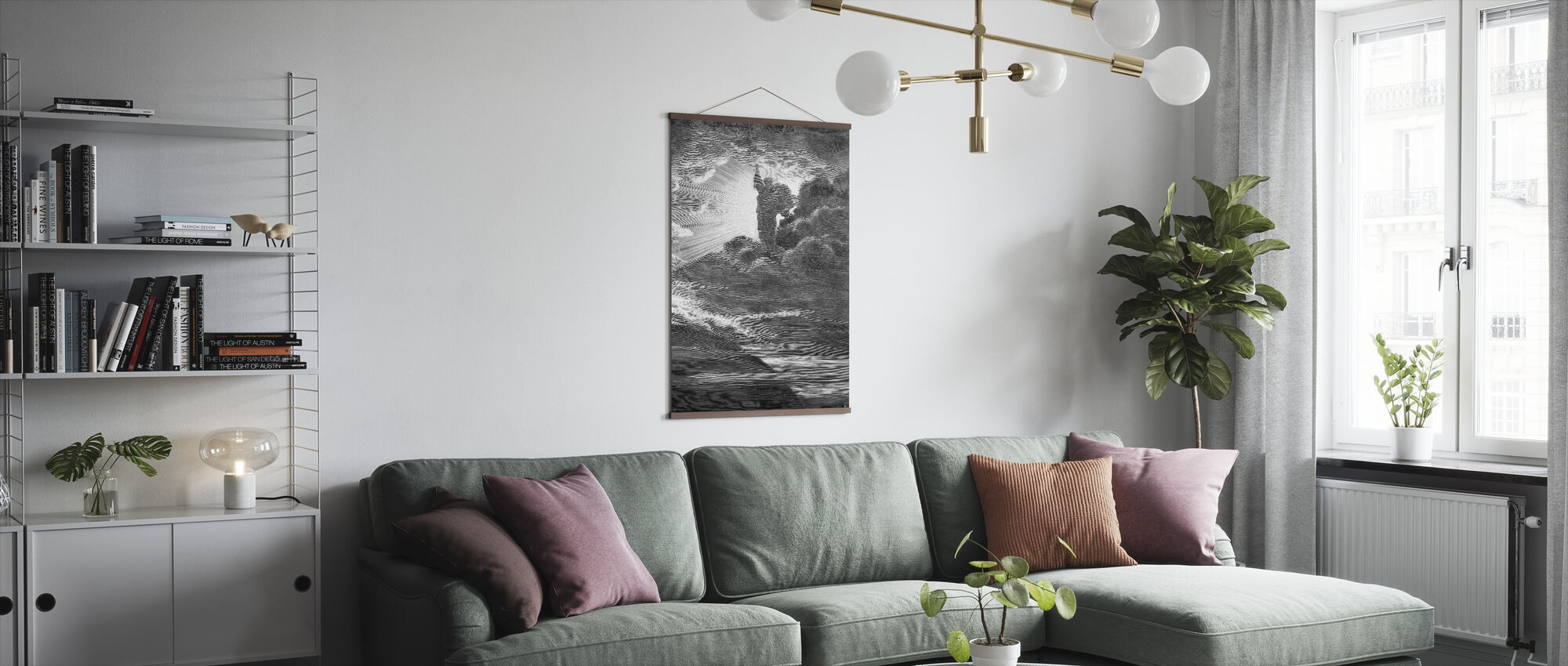 Skapelsen - Gustave Dore - Poster - Living Room
