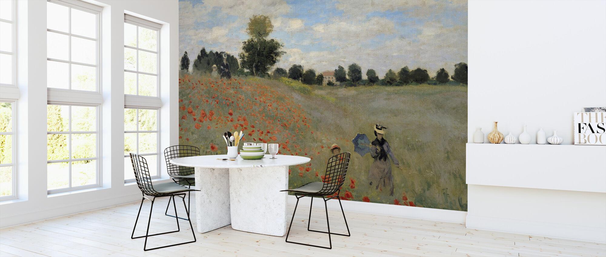 Vilde valmuer - Claude Monet - Tapet - Kjøkken