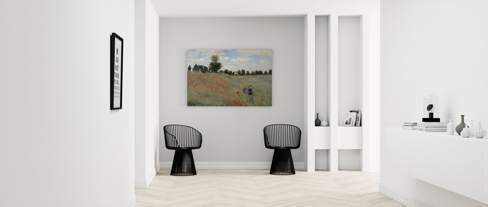 Villi Unikot - Claude Monet - Canvastaulu - Aula