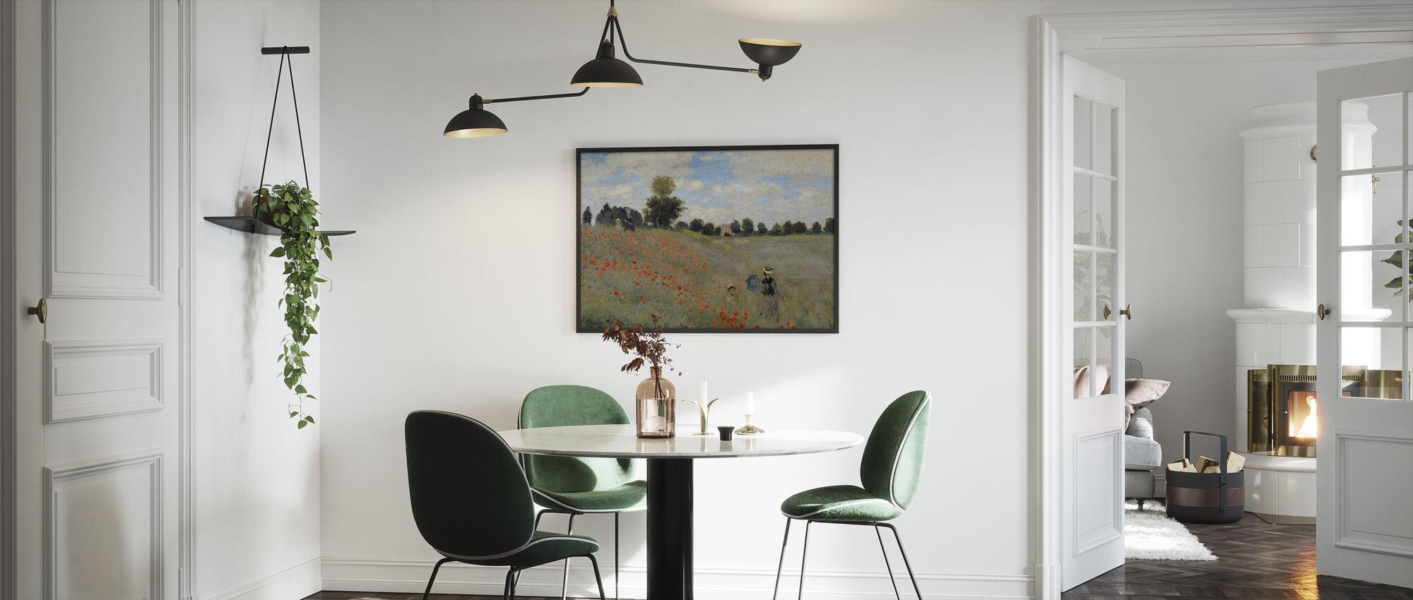 Villi Unikot - Claude Monet - Kehystetty kuva - Keittiö