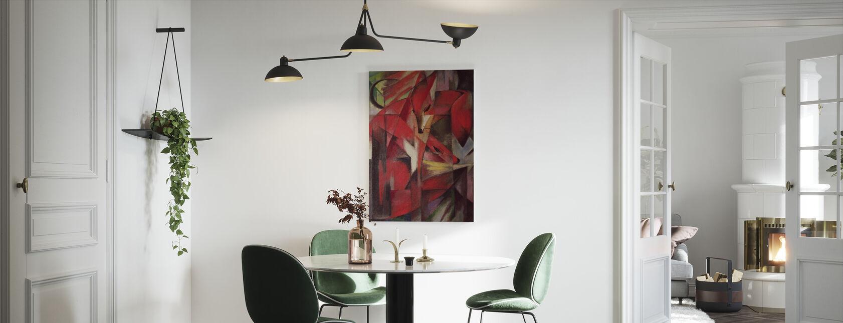 Foxes - Franz Marc - Canvas print - Kitchen