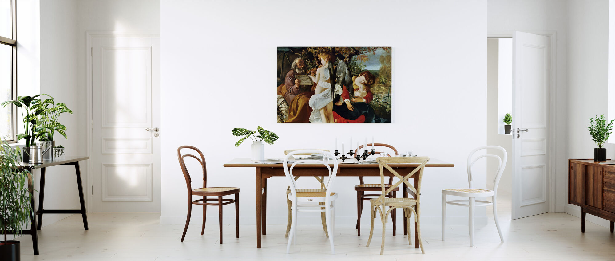 Rest on the Flight into Egypt - Michelangelo Merisi da Caravaggio - Canvas print - Kitchen
