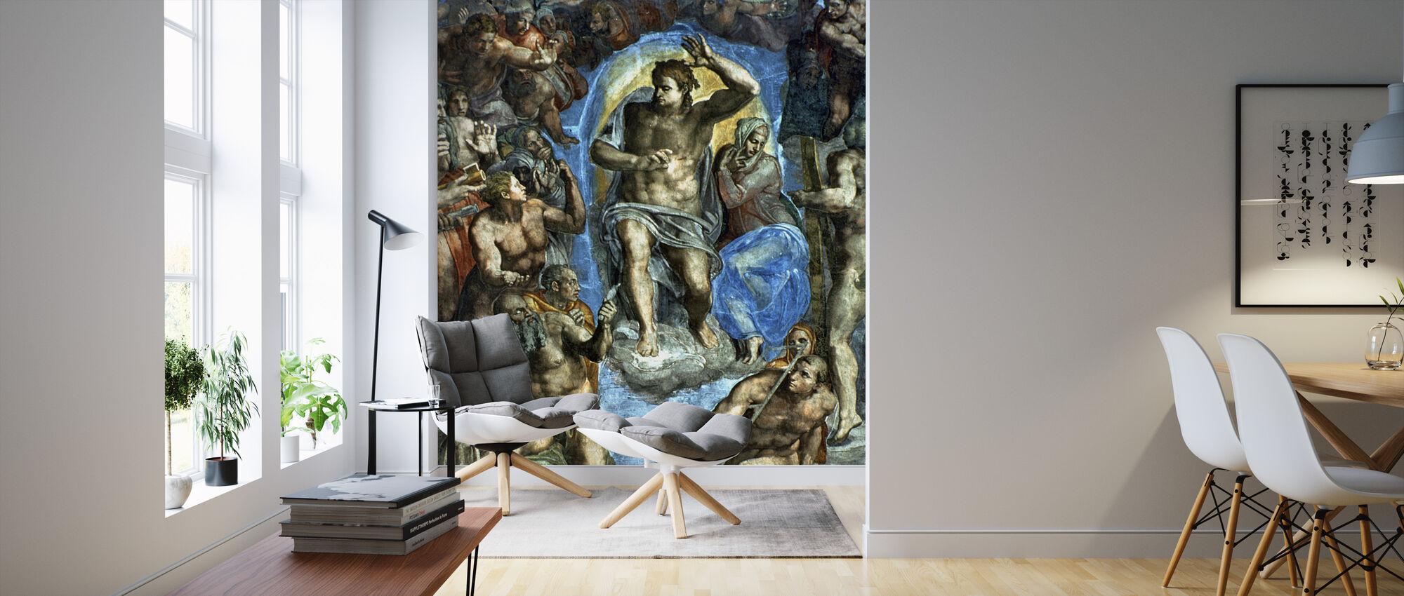 Last Judgement - Michelangelo Buonarroti - Wallpaper - Living Room