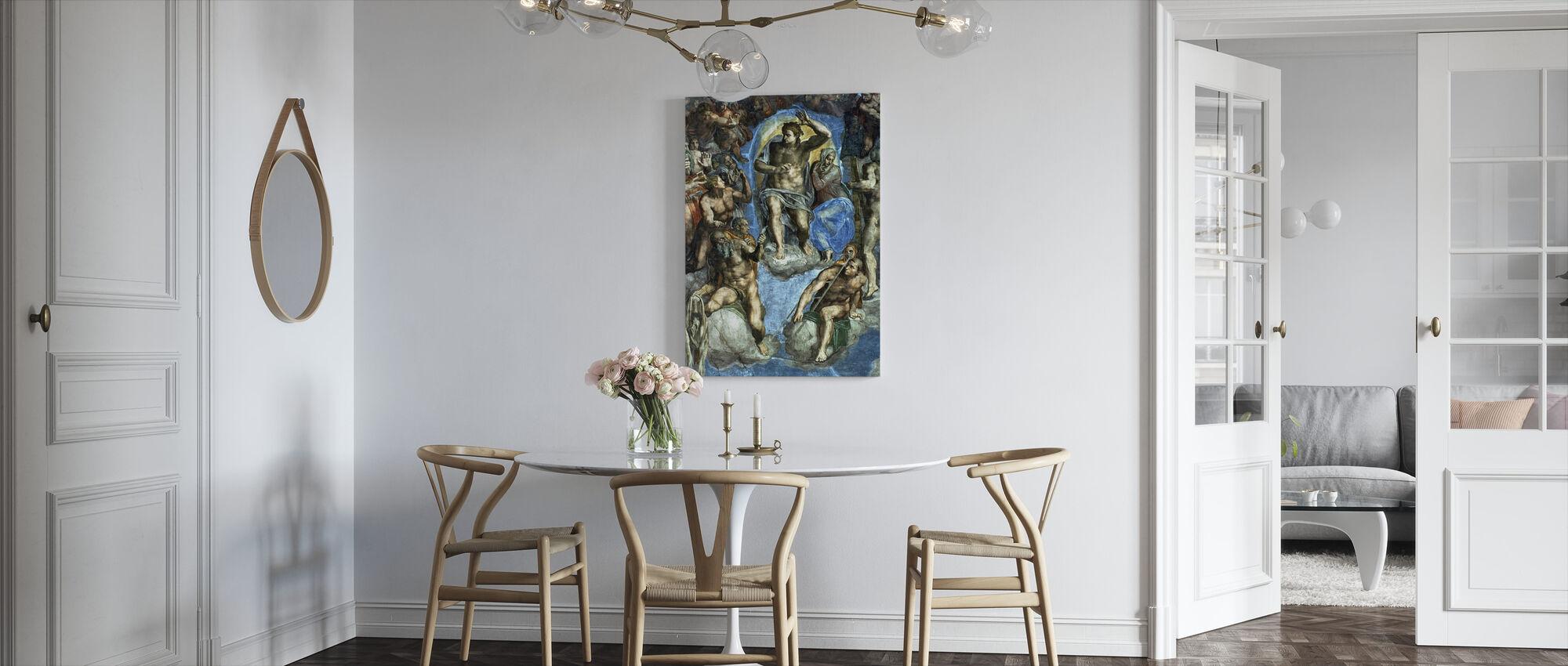 Last Judgement - Michelangelo Buonarroti - Canvas print - Kitchen
