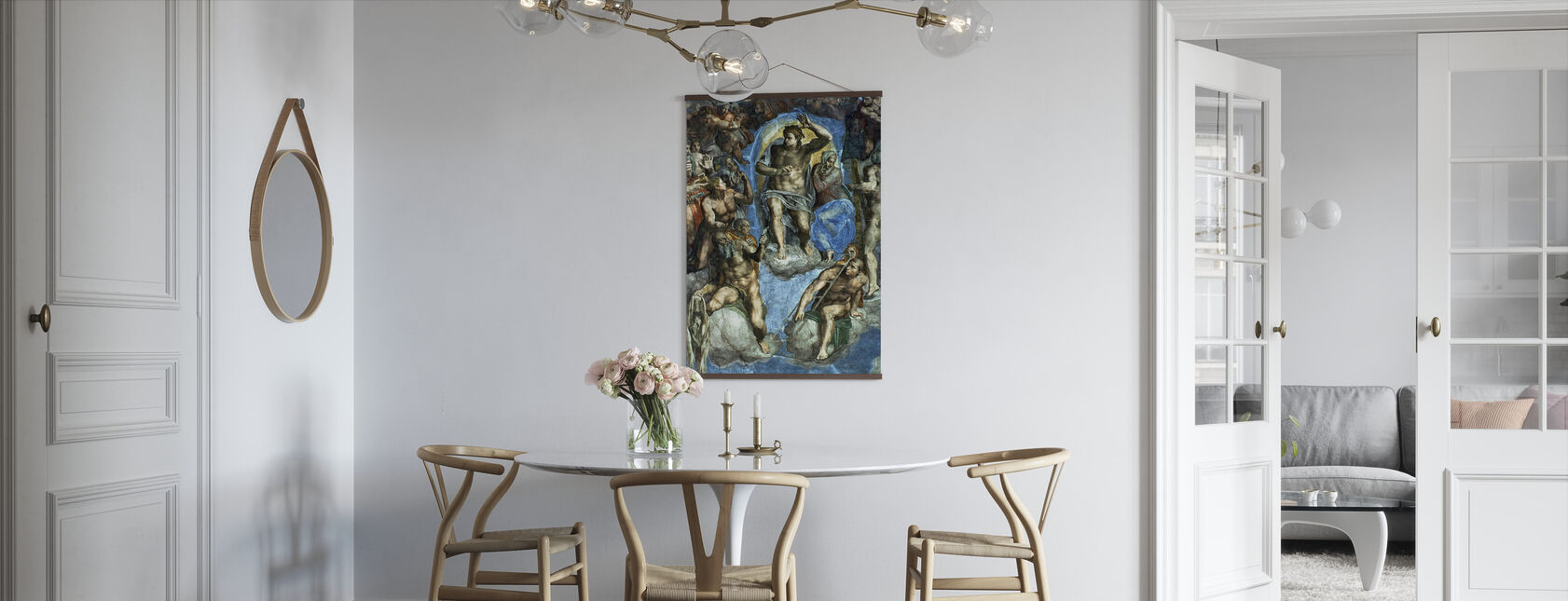 Last Judgement - Michelangelo Buonarroti - Poster - Kitchen
