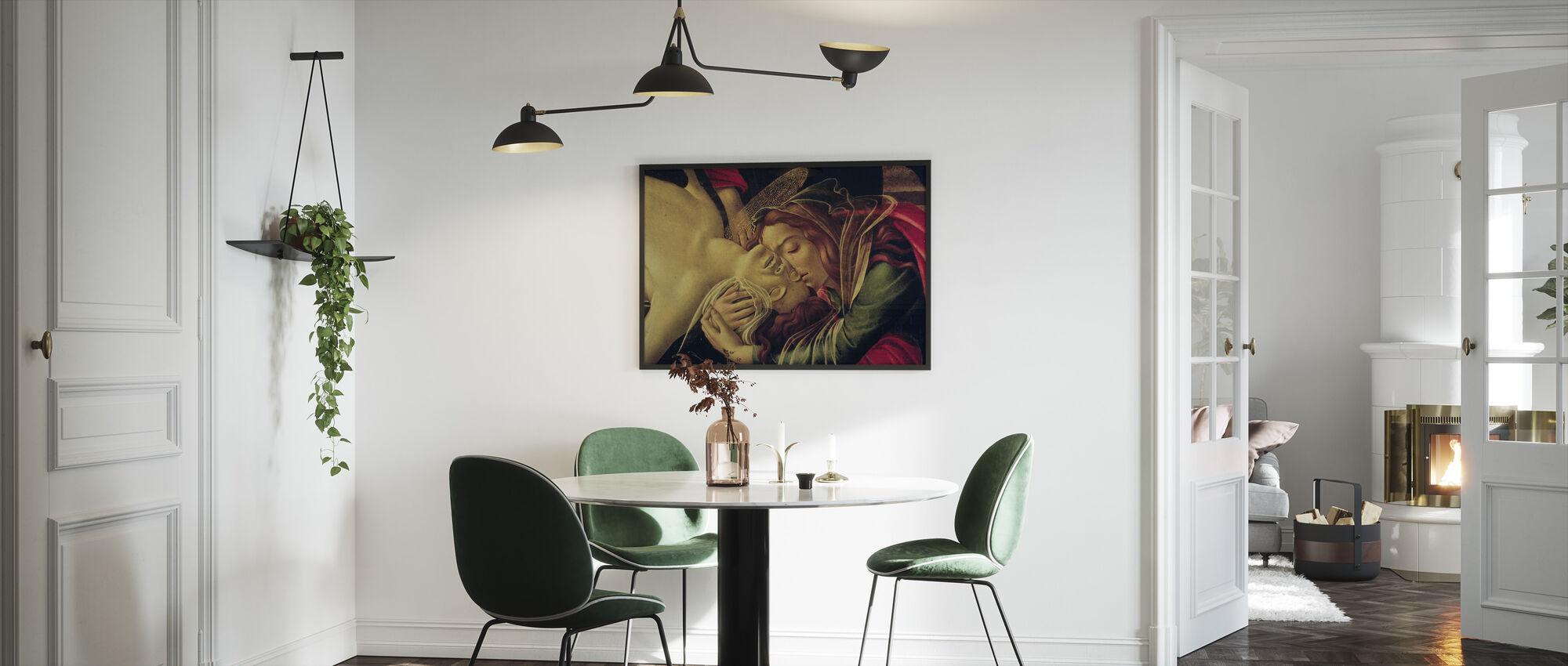 Lamentation of Christ - Sandro Botticelli - Framed print - Kitchen