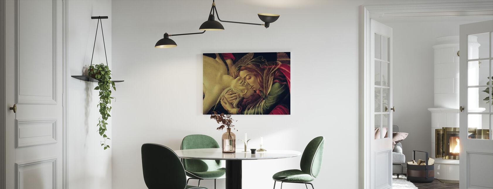 Lamentation of Christ - Sandro Botticelli - Canvas print - Kitchen