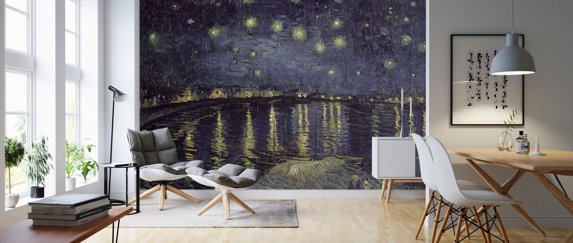 Sterrennacht - Vincent van Gogh - Behang - Woonkamer