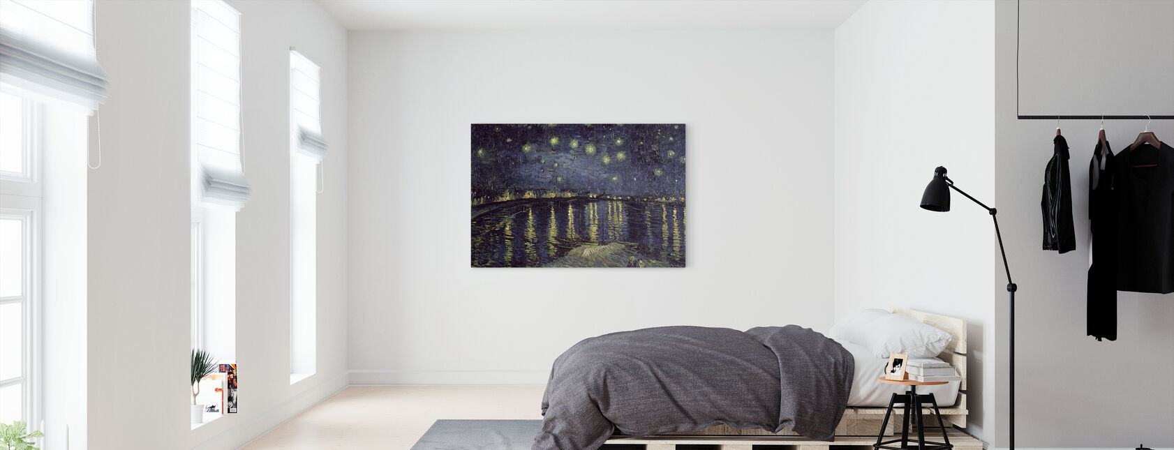 Starry Night - Vincent van Gogh - Canvas print - Bedroom