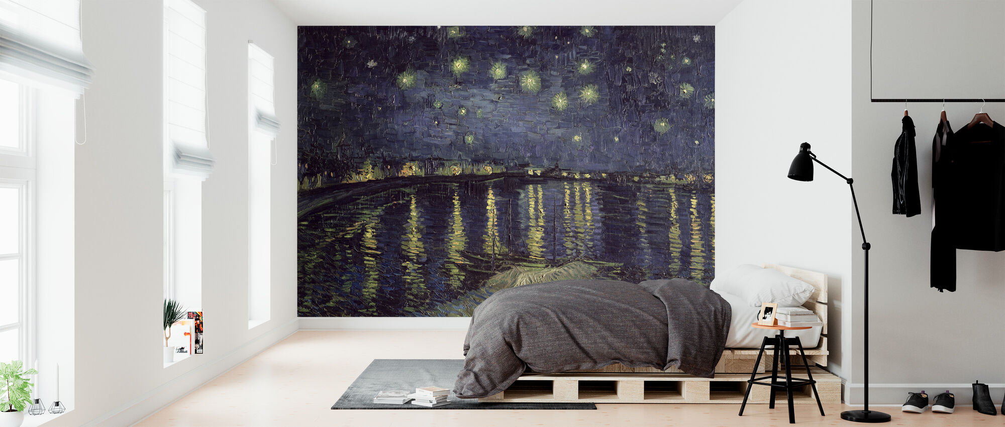 Starry Night Vincent Van Gogh High Quality Wall Murals With