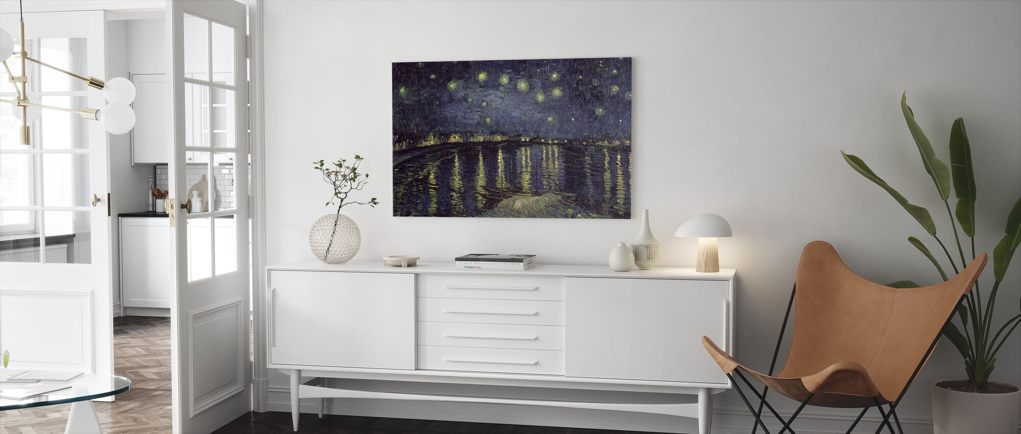 Starry Night - Vincent van Gogh - Canvas print - Living Room