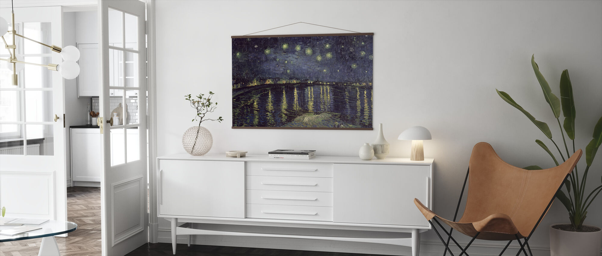 Starry Night - Vincent van Gogh - Juliste - Olohuone
