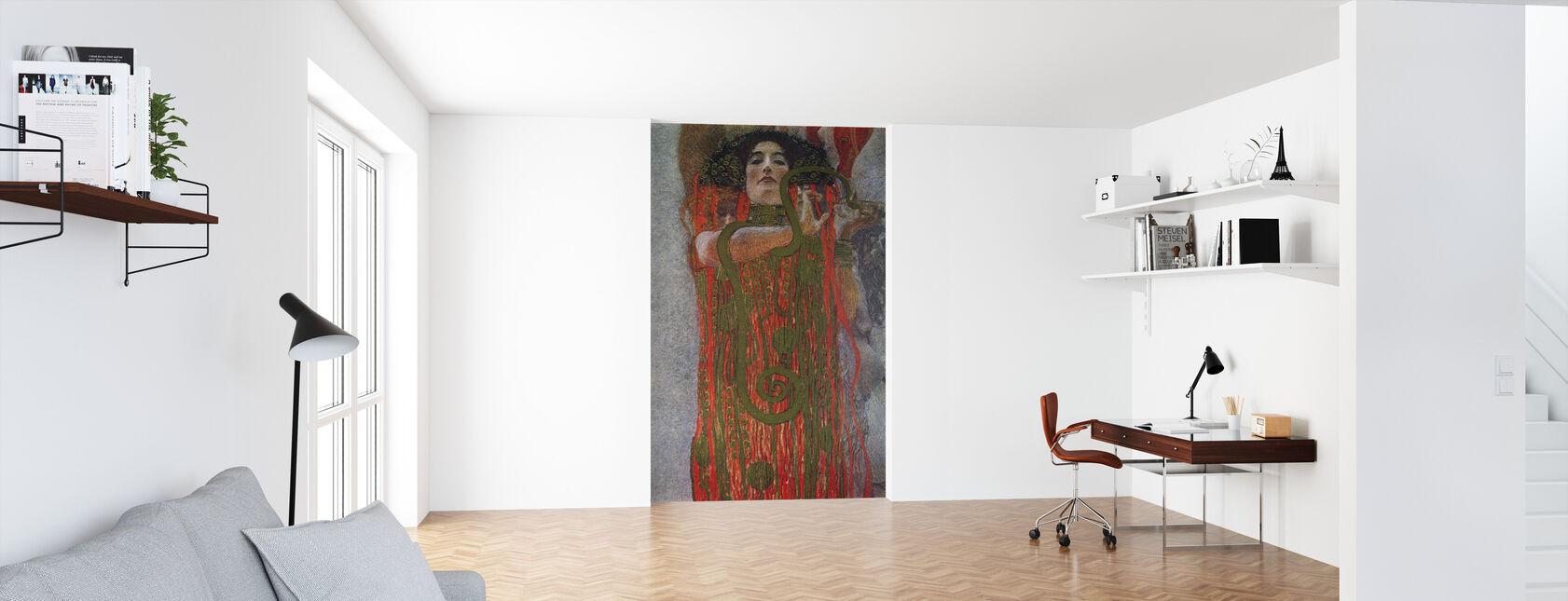 Hygieia - Gustav Klimt - Wallpaper - Office