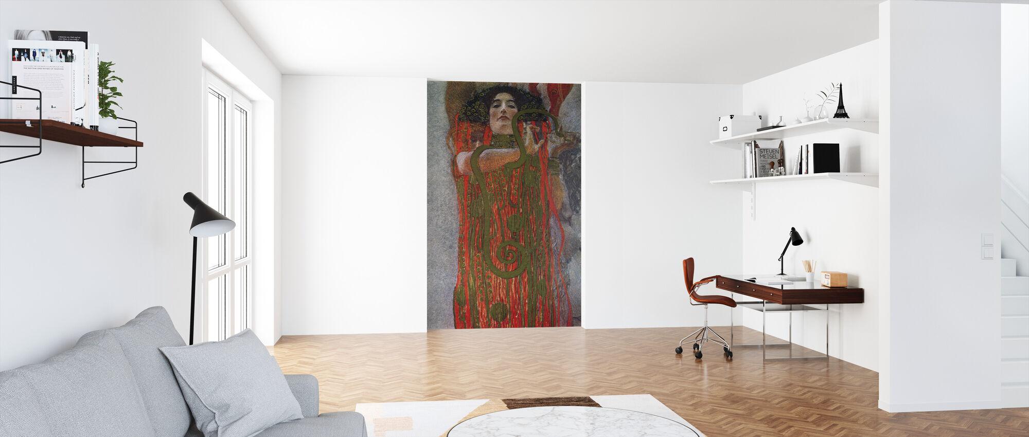 Hygieia - Gustav Klimt - Tapet - Kontor