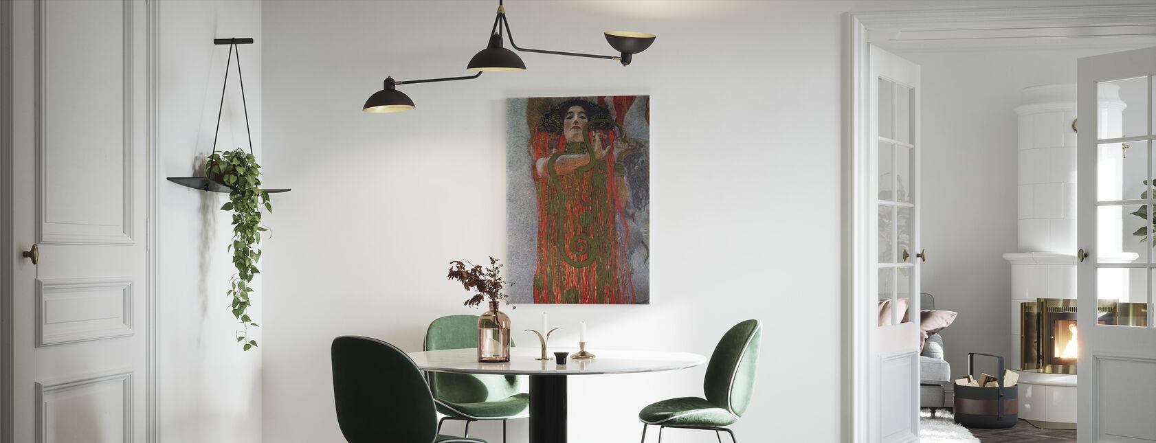 Hygieia - Gustav Klimt - Canvas print - Kitchen
