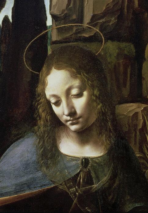 Virgin Of The Rocks Leonardo Da Vinci Decorate With A