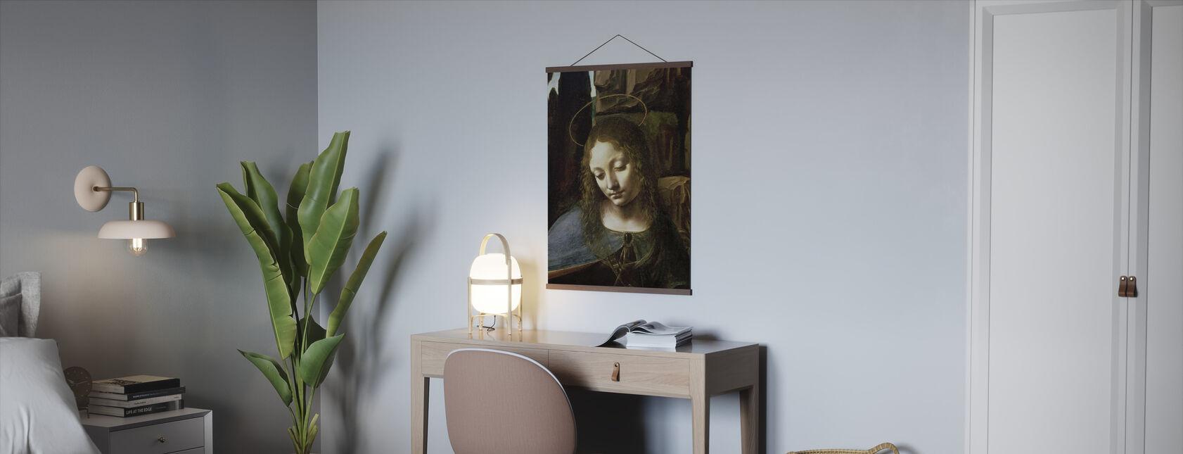 Kivien neitsyt - Leonardo da Vinci - Juliste - Toimisto