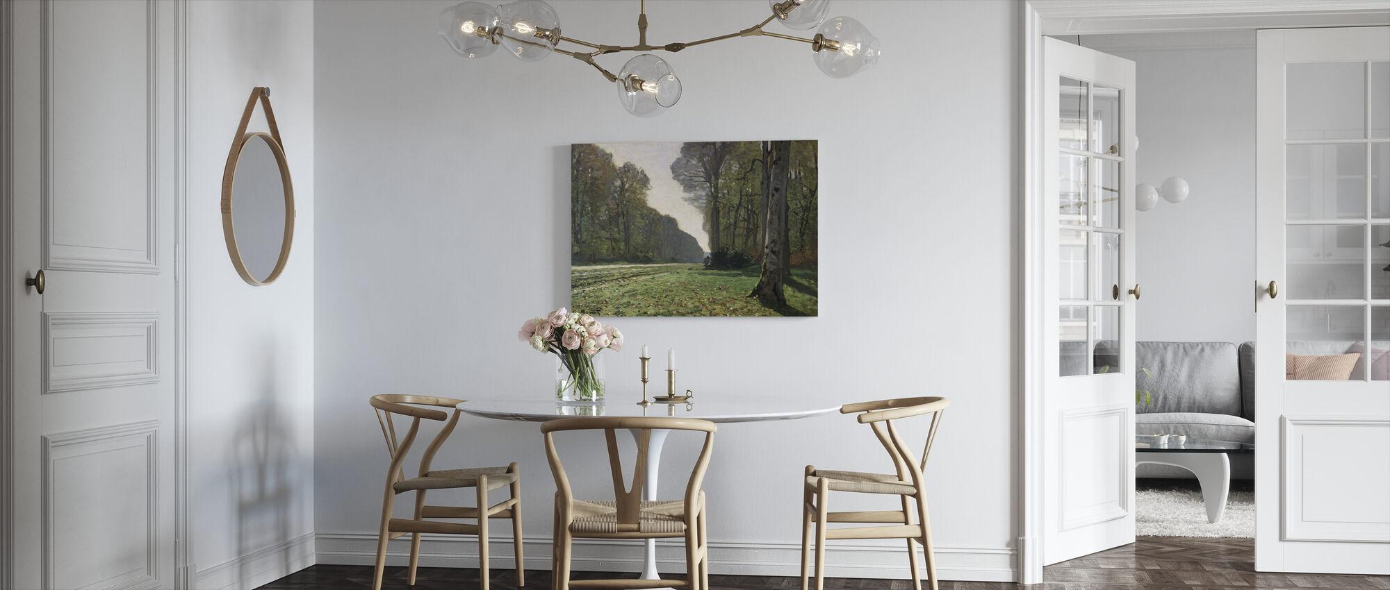 Fontainebleau - Claude Monet - Canvastavla - Kök