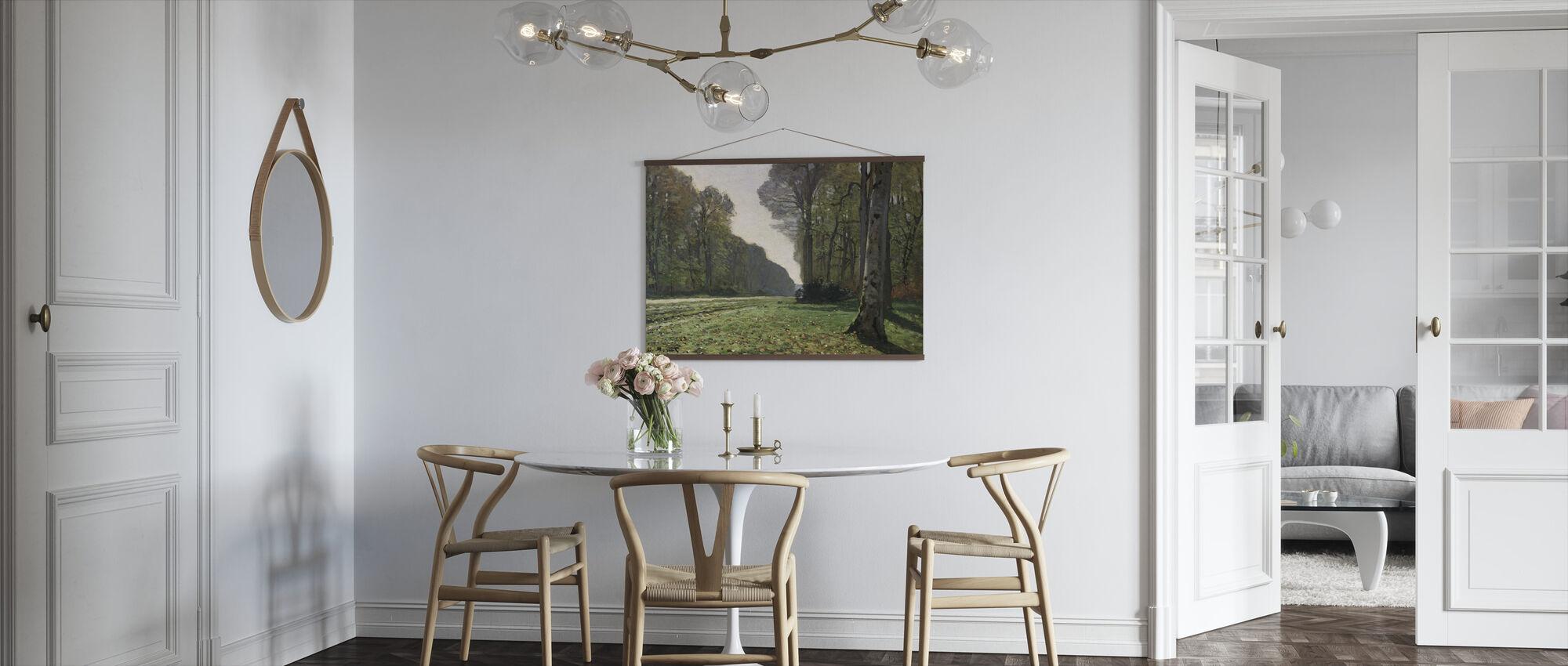 Fontainebleau - Claude Monet - Plakat - Kjøkken