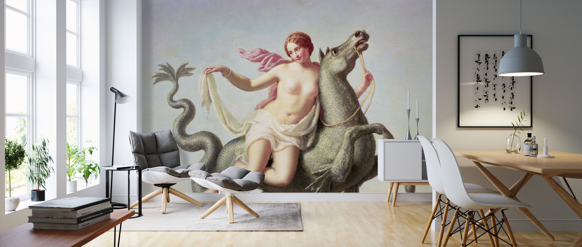 Escape of Galatea - Michelangelo Maestri - Wallpaper - Living Room