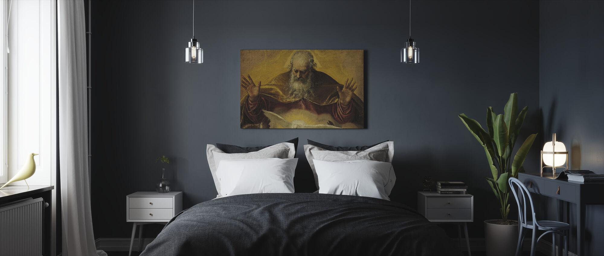 Eeuwige Vader - Paolo Veronese - Canvas print - Slaapkamer