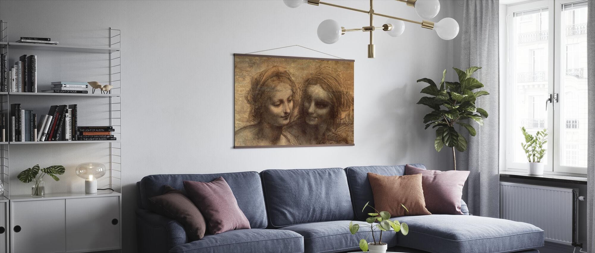 Virgin and Child - Leonardo da Vinci - Poster - Living Room