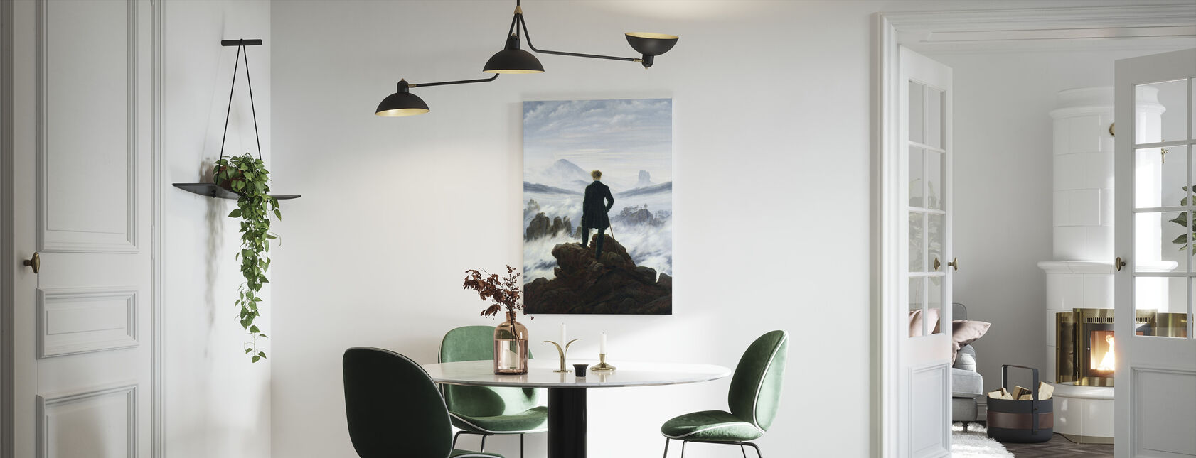 Wanderer above the Sea of Fog - Caspar Friedrich - Canvas print - Kitchen