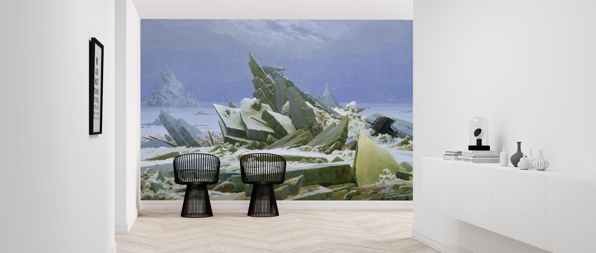 Polar Sea - Caspar Friedrich - Wallpaper - Hallway