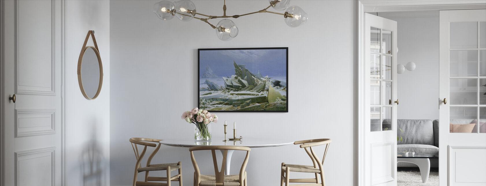 Polaire Zee - Caspar Friedrich - Ingelijste print - Keuken