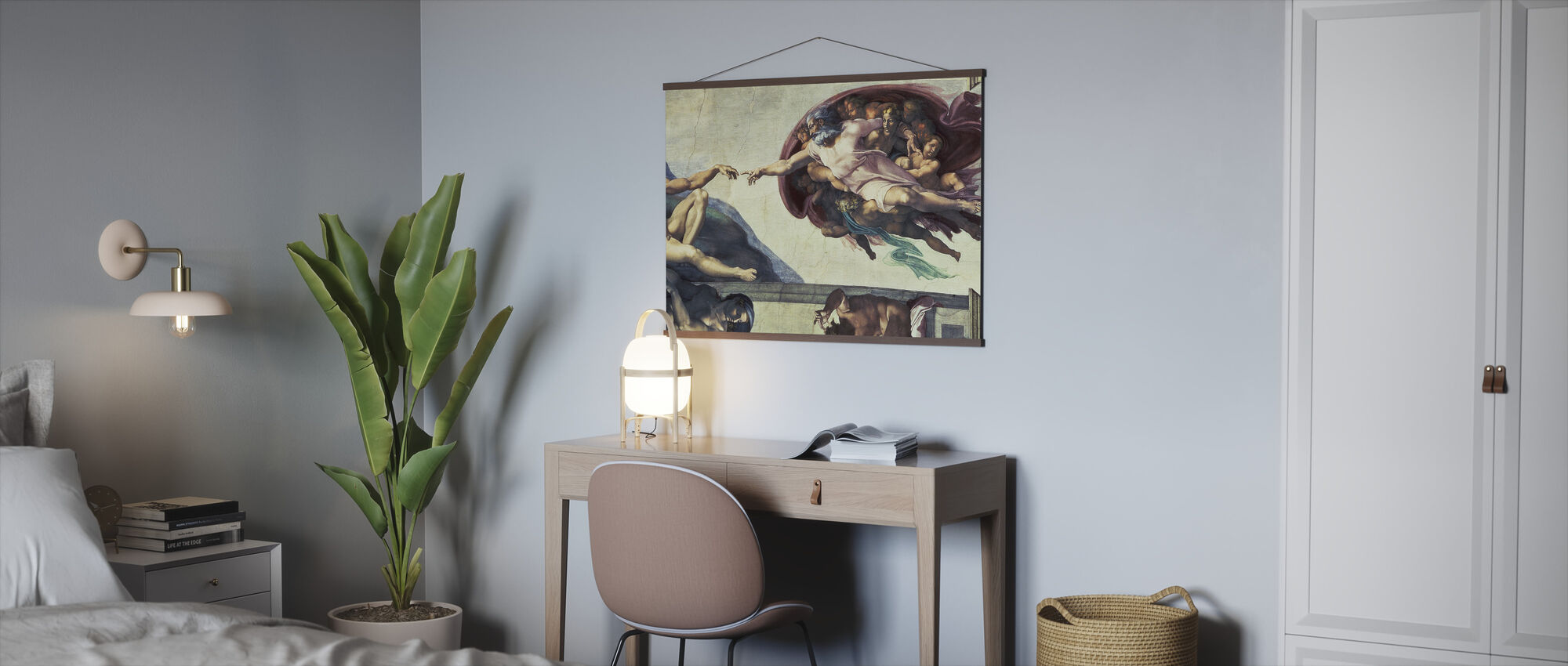 Creation of Adam - Michelangelo Buonarroti - Poster - Office