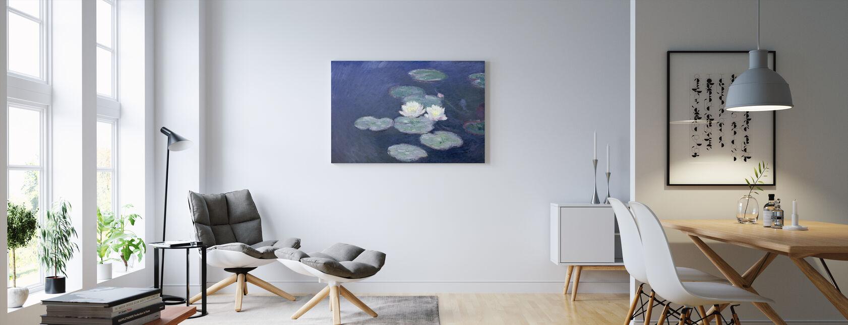 Vandliljer - Claude Monet - Billede på lærred - Stue