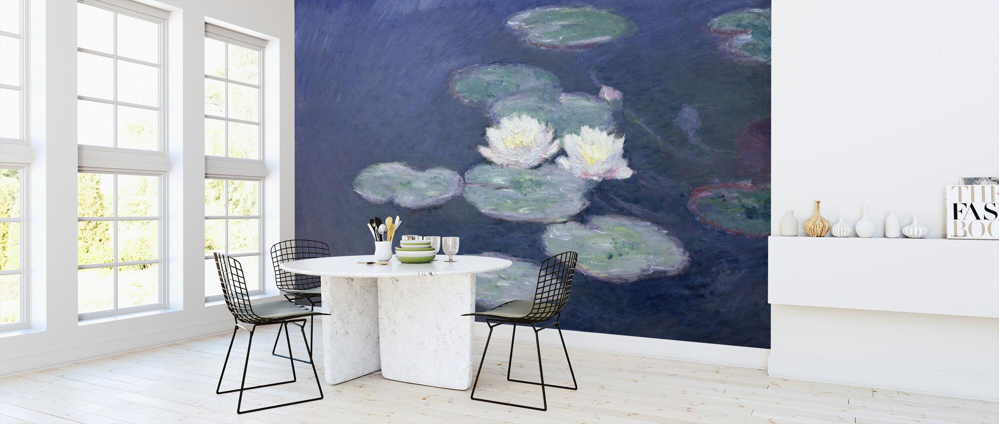 Vesimiljat - Claude Monet - Tapetti - Keittiö
