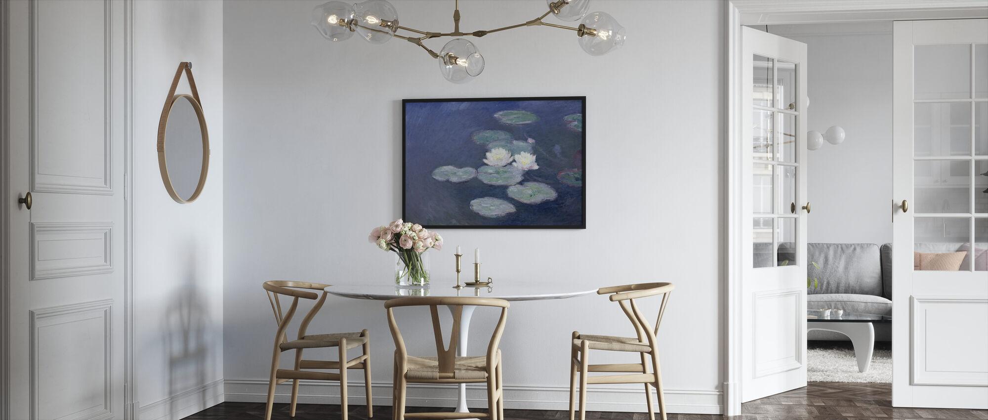 Waterlilies - Claude Monet - Framed print - Kitchen