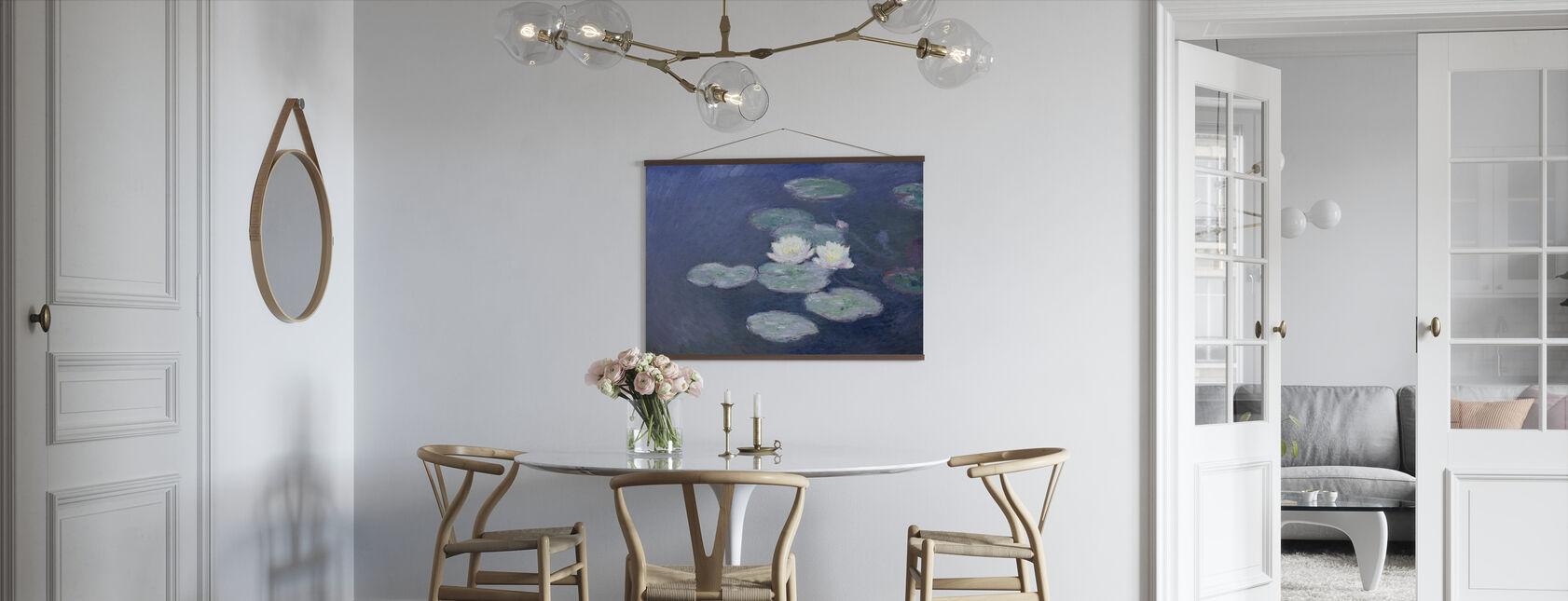 Waterlilies - Claude Monet - Poster - Kitchen