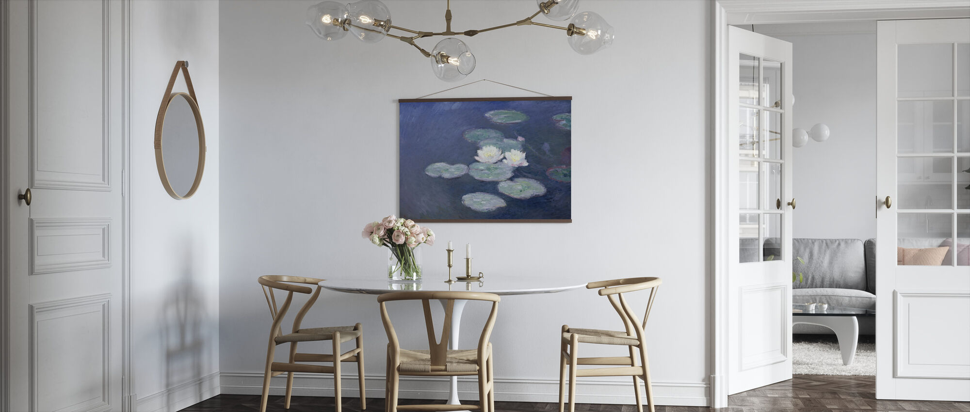 Waterlilies - Claude Monet - Poster - Kitchen