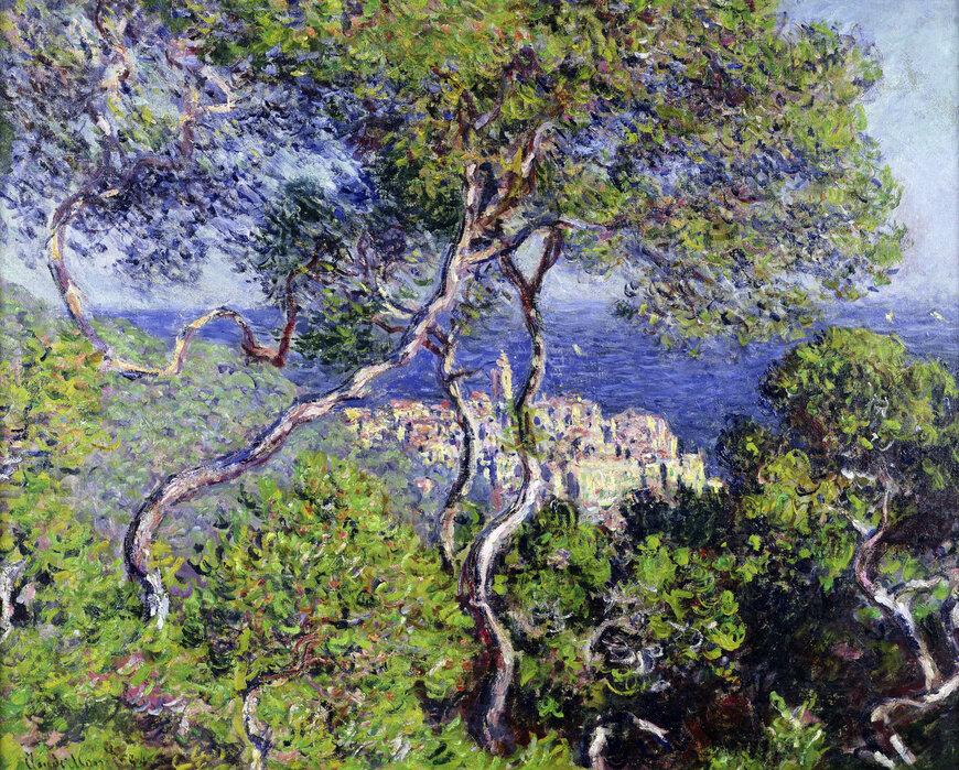 Bordighera Claude Monet Trendy Wall Mural Photowall