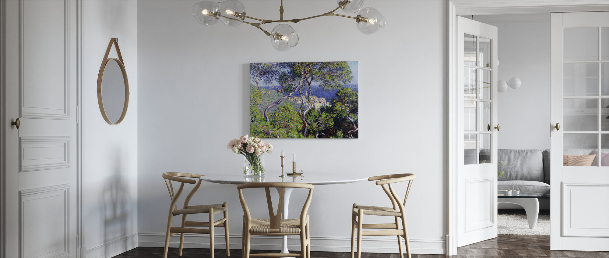 Bordighera -  Claude Monet - Canvastavla - Kök