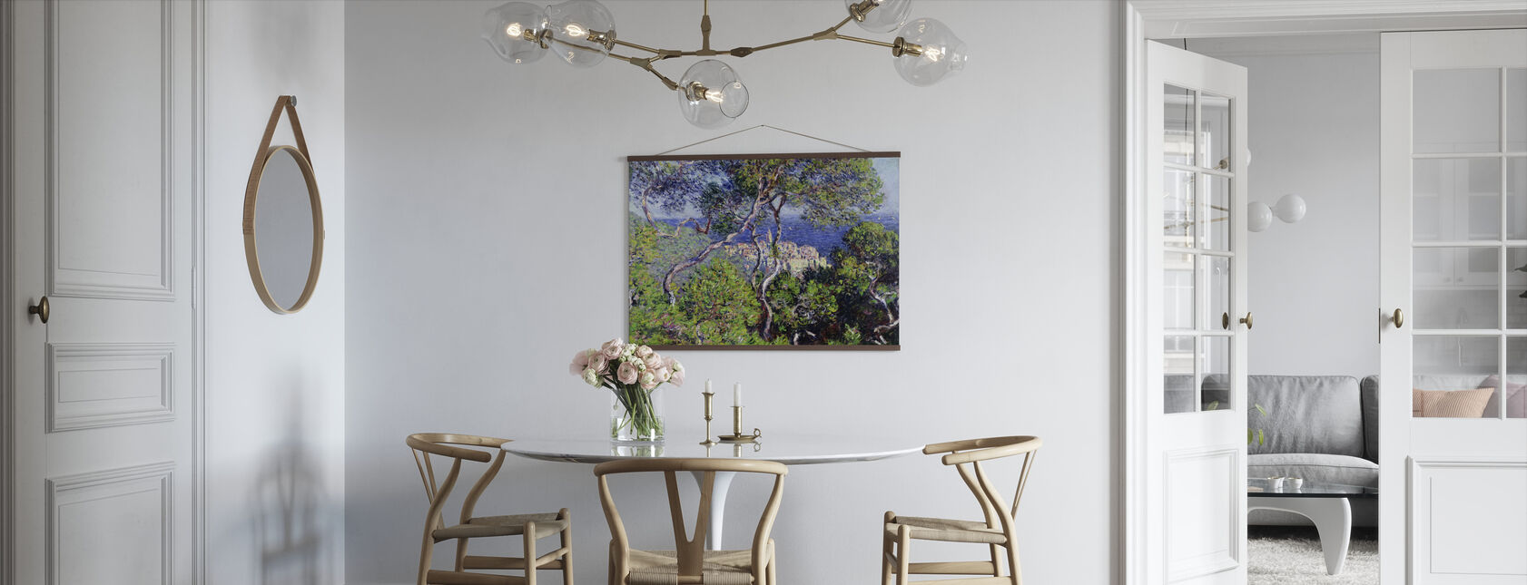 Bordighera -  Claude Monet - Poster - Kitchen