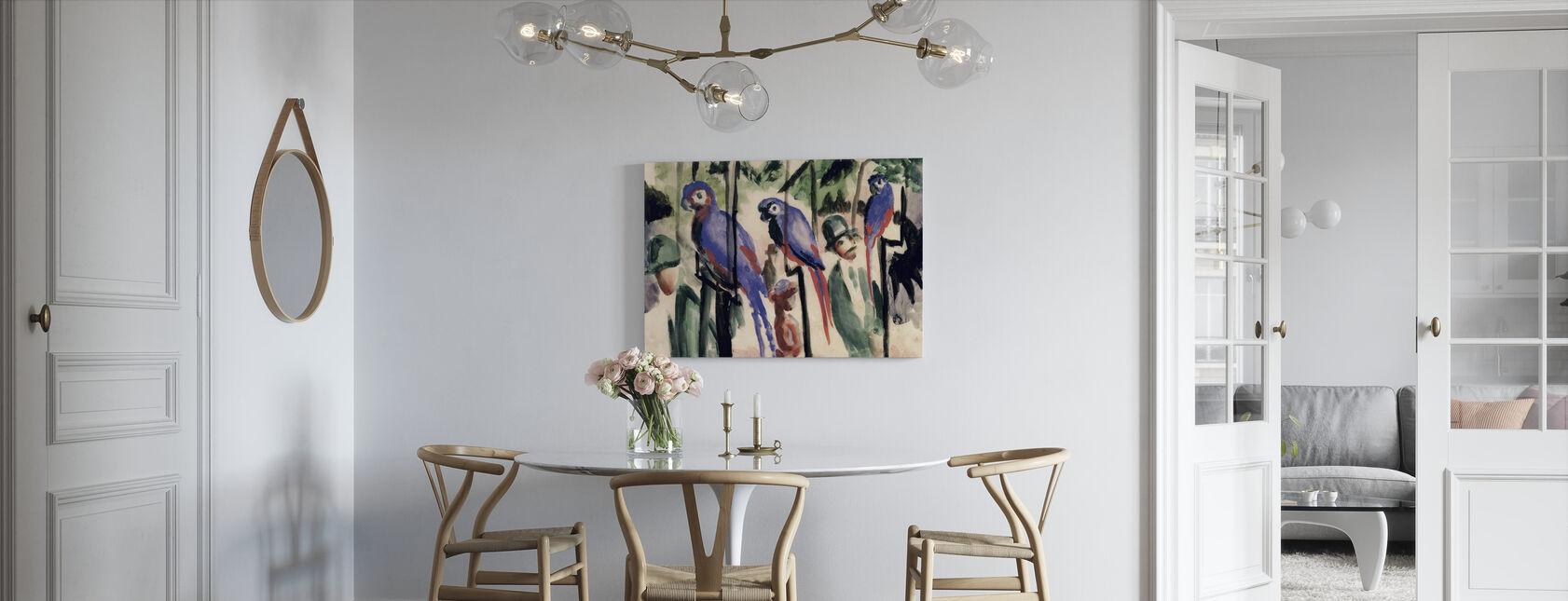 Blue Parrots - August Macke - Canvas print - Kitchen