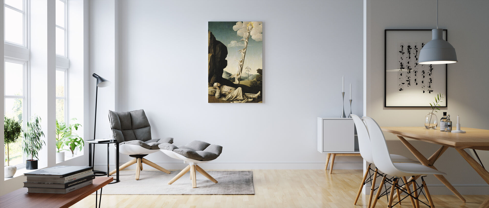 Jacob´s Ladder - French School - Canvas print - Living Room