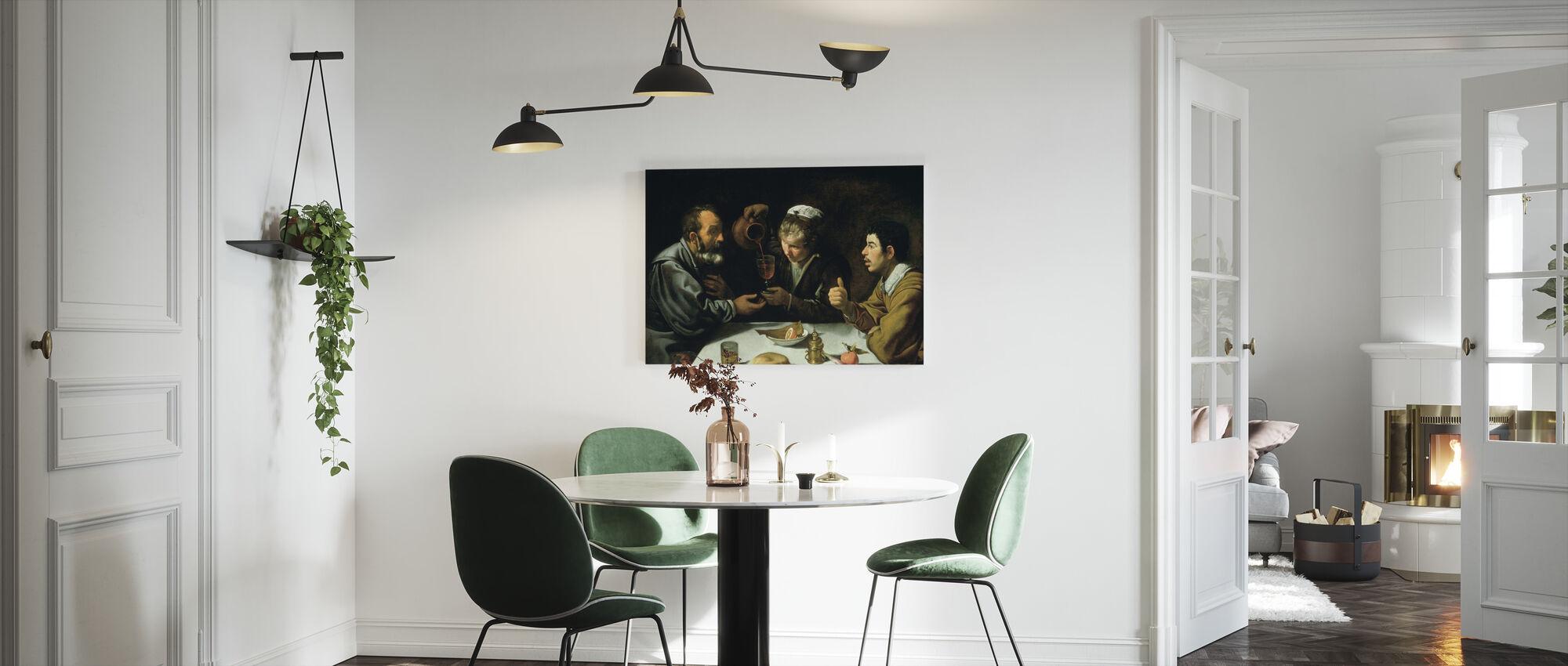 Lunch - Diego Velasquez - Canvas print - Keuken