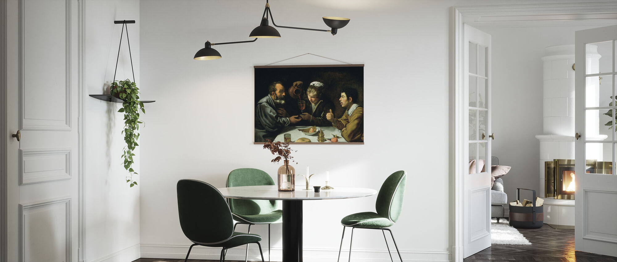 Lunch - Diego Velasquez - Poster - Kitchen