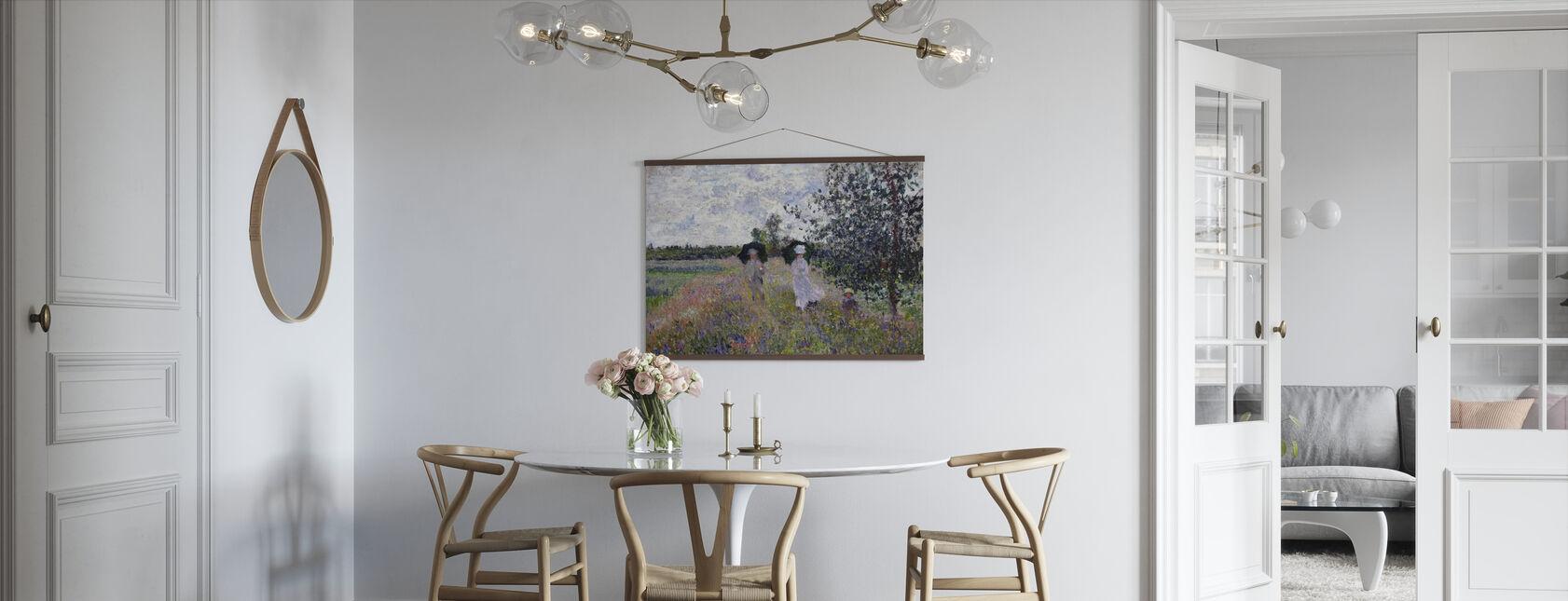 Promenade - Claude Monet - Poster - Kök