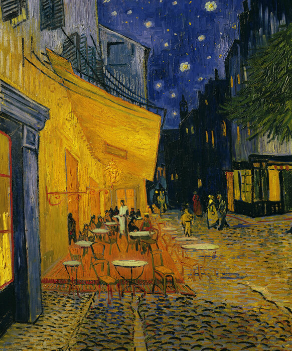Cafe Terrace Vincent Van Gogh High Quality Wall Murals