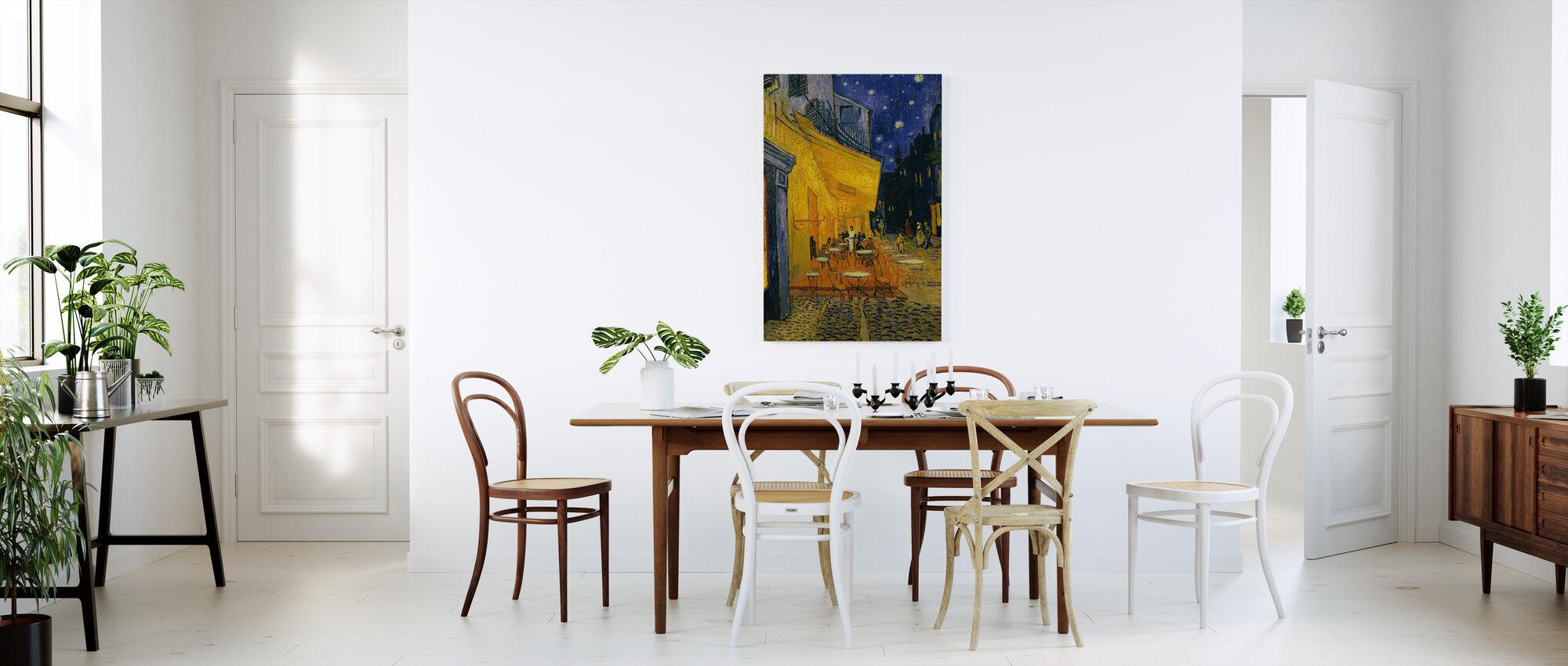 Caféterrasse - Vincent van Gogh - Billede på lærred - Køkken