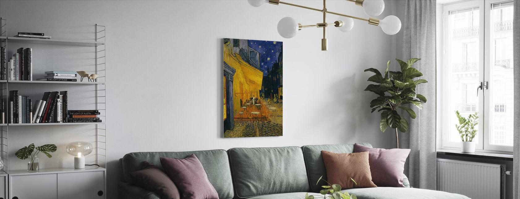 Kafé terrasse - Vincent van Gogh - Lerretsbilde - Stue