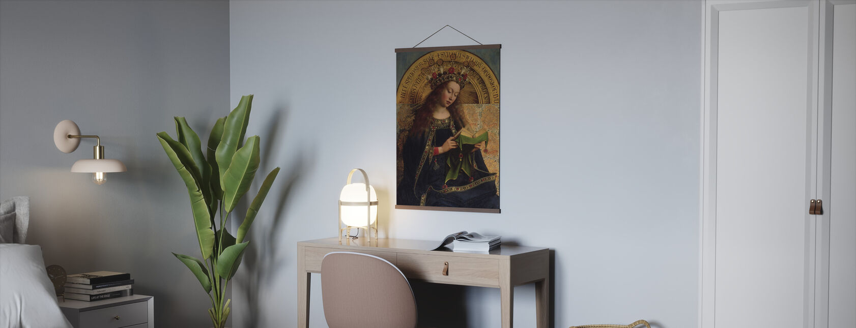 Maagd Maria - Hubert Eyck - Poster - Kantoor