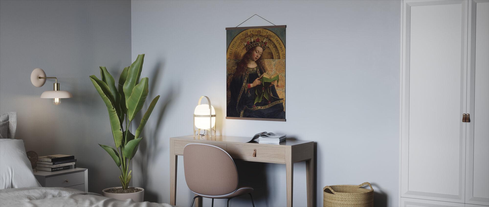 Virgin Mary - Hubert Eyck - Poster - Office