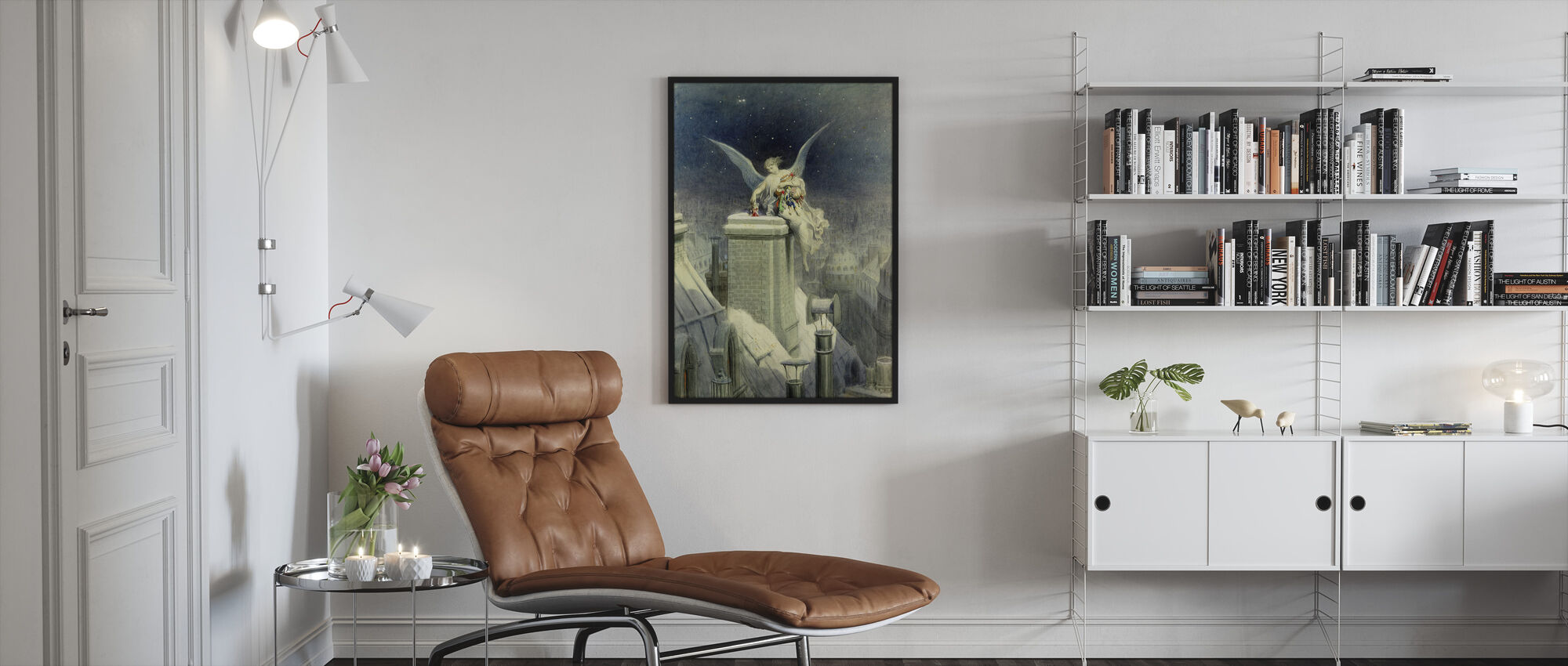 Christmas Eve - Gustave Dore - Framed print - Living Room